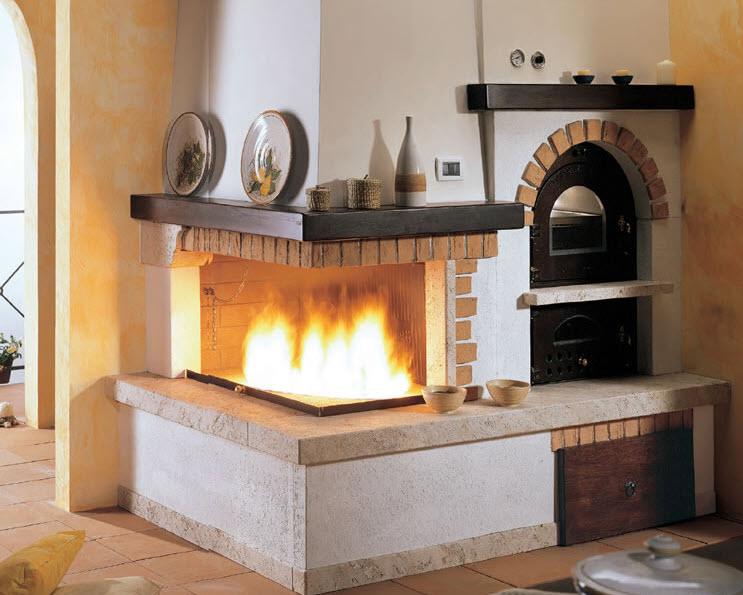Bien connu Camini a legna in Toscana HQ68