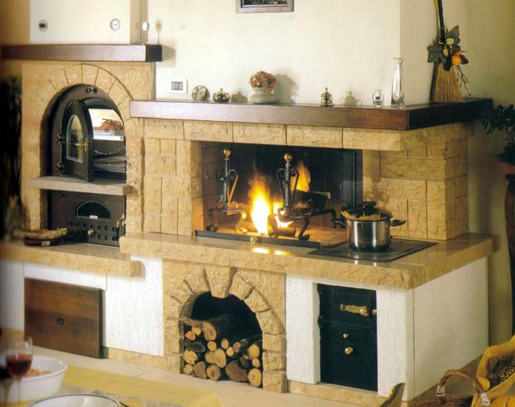 forni a legna in toscana - Cucina Con Forno A Legna