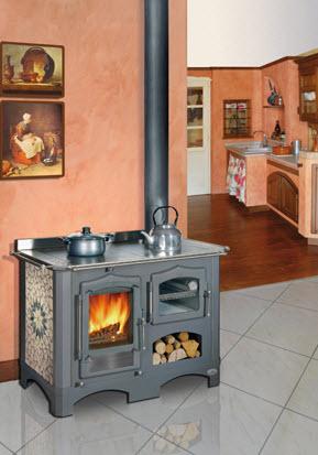 Stufe a legna per cucinare tovaglioli di carta - Stufa a pellet per cucinare ...