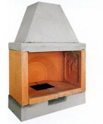 Caminetto per esterno caminetti interni prezzi caminetti for Barbecue in muratura obi