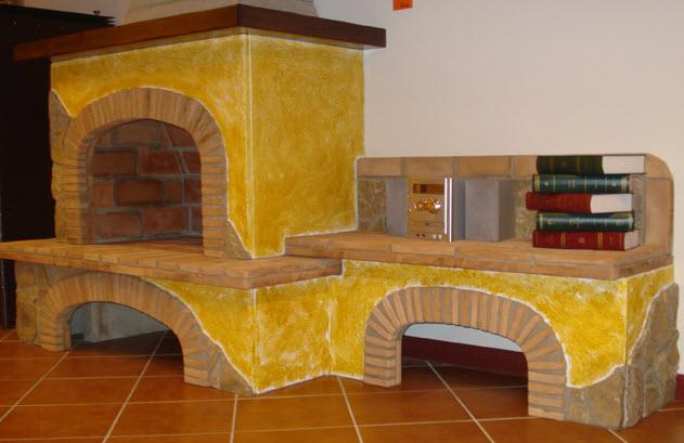 Foto di caminetti rustici recupero di caminetto esistente for Piano anteriore del camino