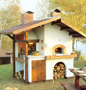 forni a legna in lombardia - Cucina Con Forno A Legna
