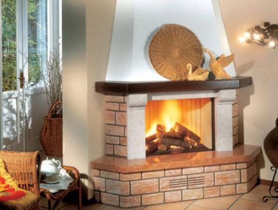 Riscaldamento a legna termocamini inserti e stufe a legna for Caminetti combinati legna pellet palazzetti