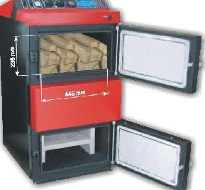 Stufa a pellet e legna combinate le termostufe combinate for Caldaia a fiamma inversa prezzi