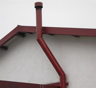 Canne fumarie esterne per stufe a pellet termosifoni in - Tubi per stufe a legna prezzi ...