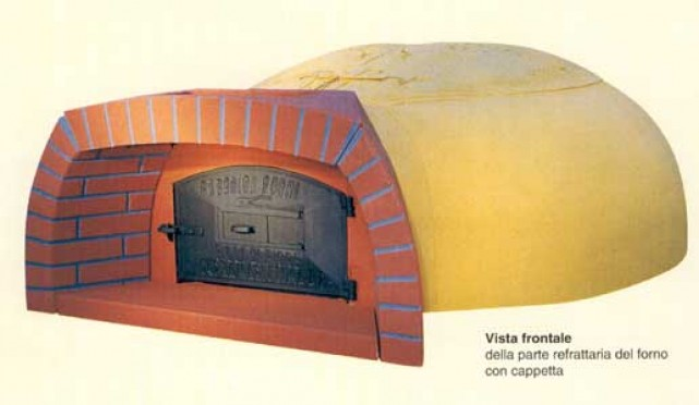 Forno a legna refrattario prezzo tovaglioli di carta for Forno a legna in mattoni refrattari