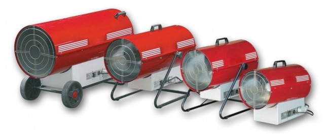 generatori di aria calda per un riscaldamento uniforme