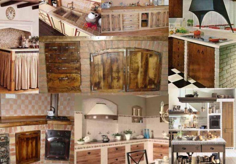 Come deve essere progettata una cucina in muratura? Aspetti ...