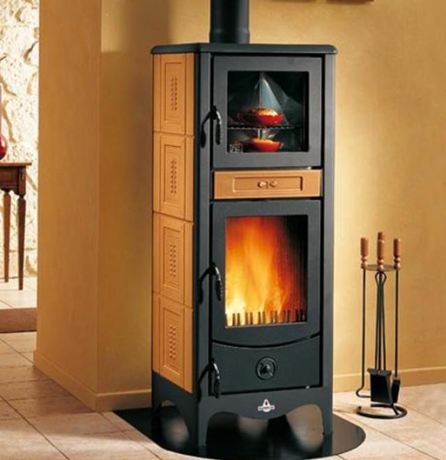 Famoso Stufe a legna con forno: cucinare e riscaldare allo stesso tempo RG75