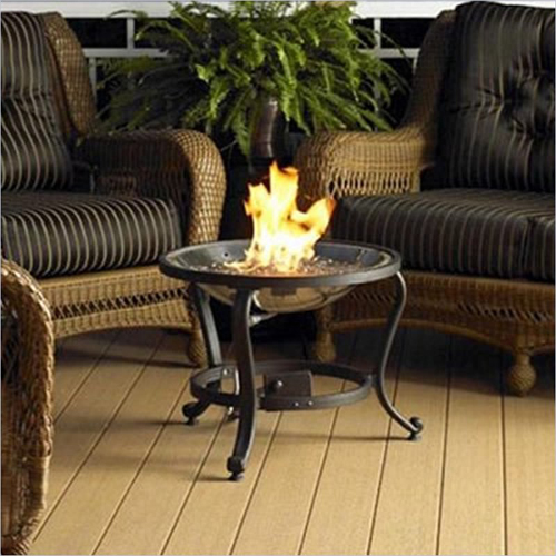 Camino-Tavolo Tripod Crystal Fire Pit by The Outdoor Greatroom Company