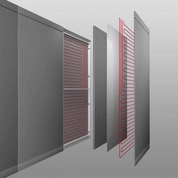 pannelli radianti a parete, a pavimento o infrarossi: quale modello