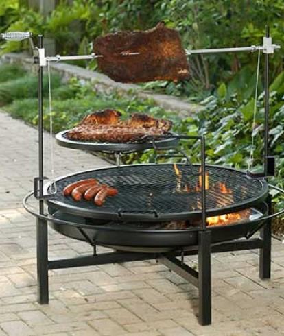 I Barbecue A Legna