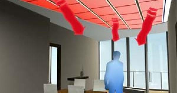 Il riscaldamento a soffitto funzionamento vantaggi e svantaggi