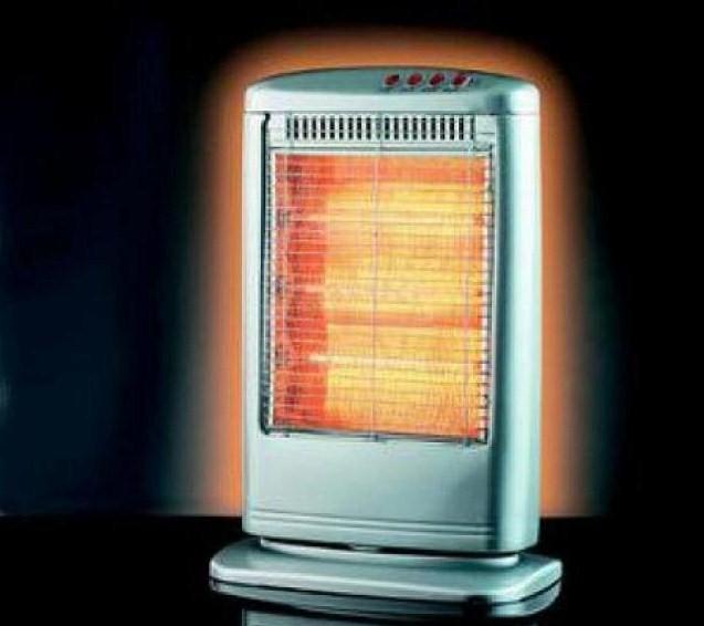 Stufa elettrica alogena, al quarzo o a raggi infrarossi