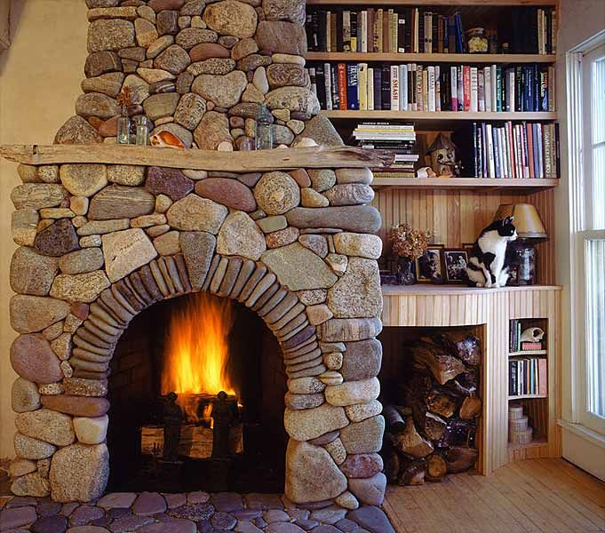 Decorating Ideas > Quanto Costa Un Camino Rustico In Pietra? Rivestimenti In  ~ 201843_Open Fireplace Decorating Ideas
